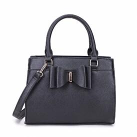Little bow handbag black