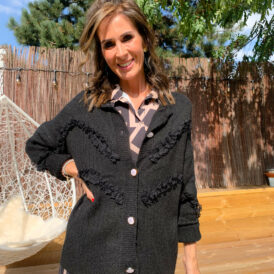 Sweater romantic black
