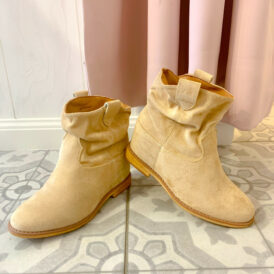 Shoes boots nude