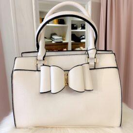 Little bow handbag beige