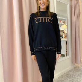 Comfy set Chic black