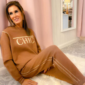 Comfy set Chic brown
