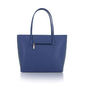 Bow handbag blue