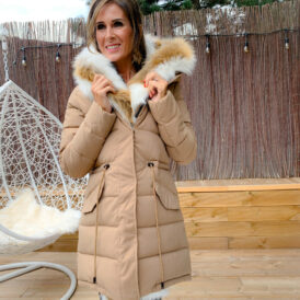 Jacket winter beige