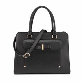 Ow my bow bag black