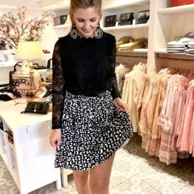 Skirt Leo black