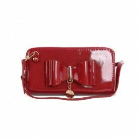 Ow my bow clutch red