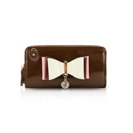 Ow my bow clutch brown