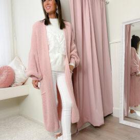 Cardigan Kyra pink