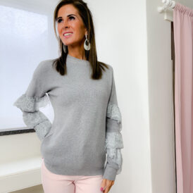 Sweater Loulou lightgrey