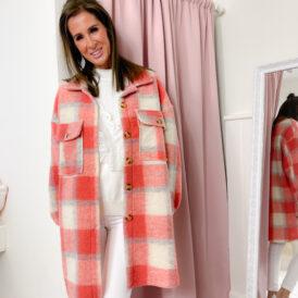 Jacket Jennah coral