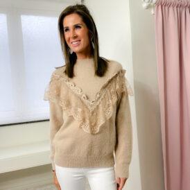 Sweater Olivia beige