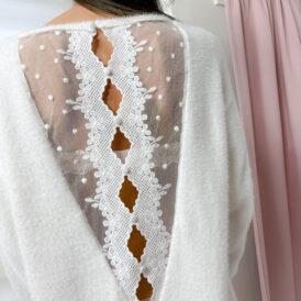 Sweaterdress Lola ivory