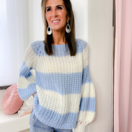 Sweater Kayla light blue