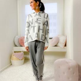 Comfy set Laila grey
