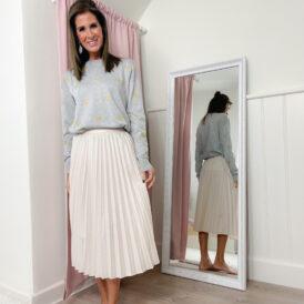 Skirt Tara beige