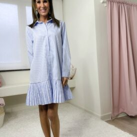Dress Jasmine light blue