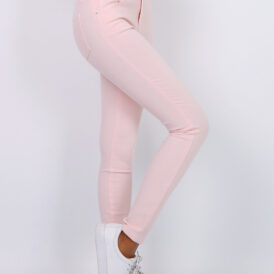High waist trousers Toxik light pink