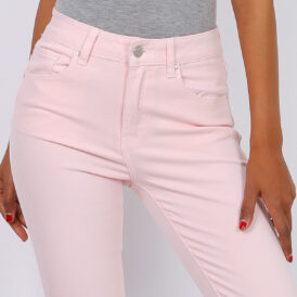High waist trousers Toxik light pink