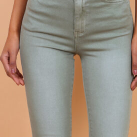 High waist trousers Toxik kaki