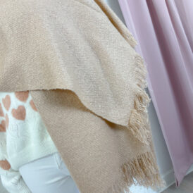 Scarf pink gold