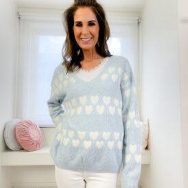 Sweater Norah lightblue