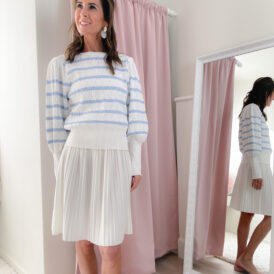 Skirt Cleo white