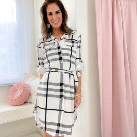 Dress Ava white
