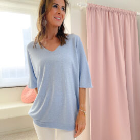 Sweater Sparkle lightblue