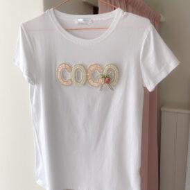 T-shirt Coco white