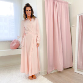 Maxidress Sophia pink