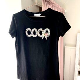 T-shirt Coco black