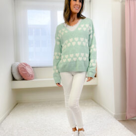 Sweater Norah lightgreen