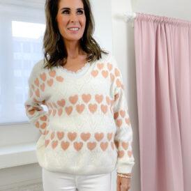 Sweater Norah white