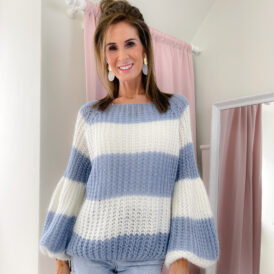 Sweater Izzy blue