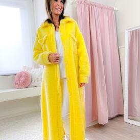 Jacket Teddy yellow