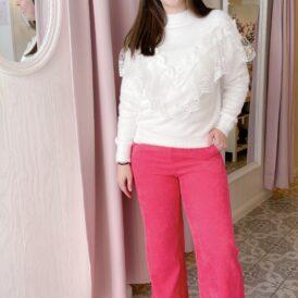 Trousers suede Yara