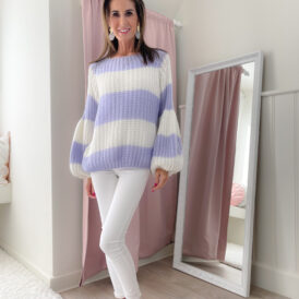 Sweater Izzy lila