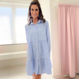 Dress Ayla light blue