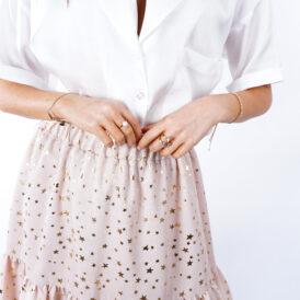 Skirt Stars beige