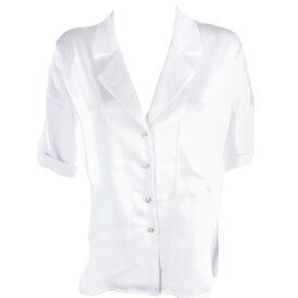 Blouse Silk White