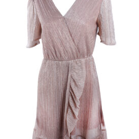 Dress Shiny Pink Gold