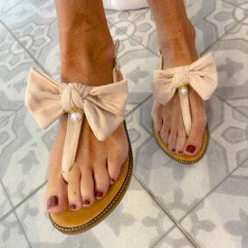 Sandaaltjes Bow Wow beige