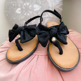 Sandaaltjes Bow Wow black