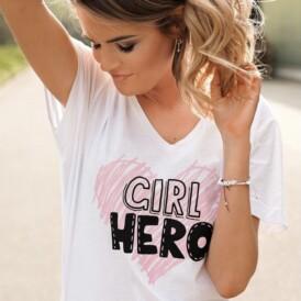 T-Shirt Girl Hero