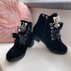 Boots Pearl black