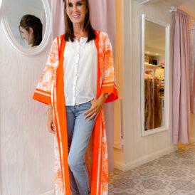 Kimono Leilani orange
