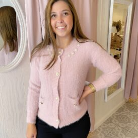 Cardigan Celeste pink