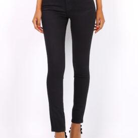 Trousers high waist Toxik black