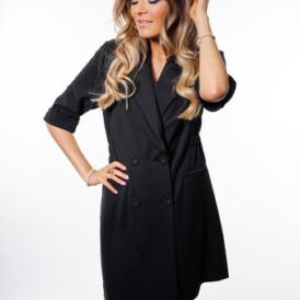 YENTLK BY YENTL Statement Dress black